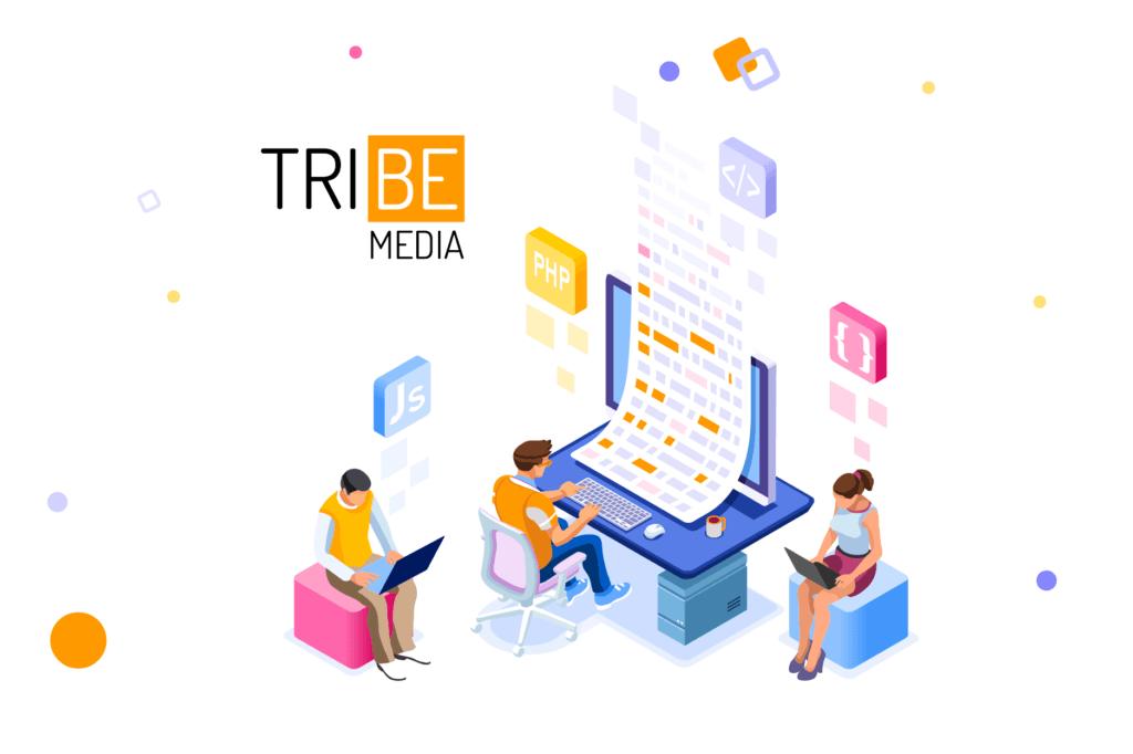 få et godt design af hjemmeside hos TRIBE Media