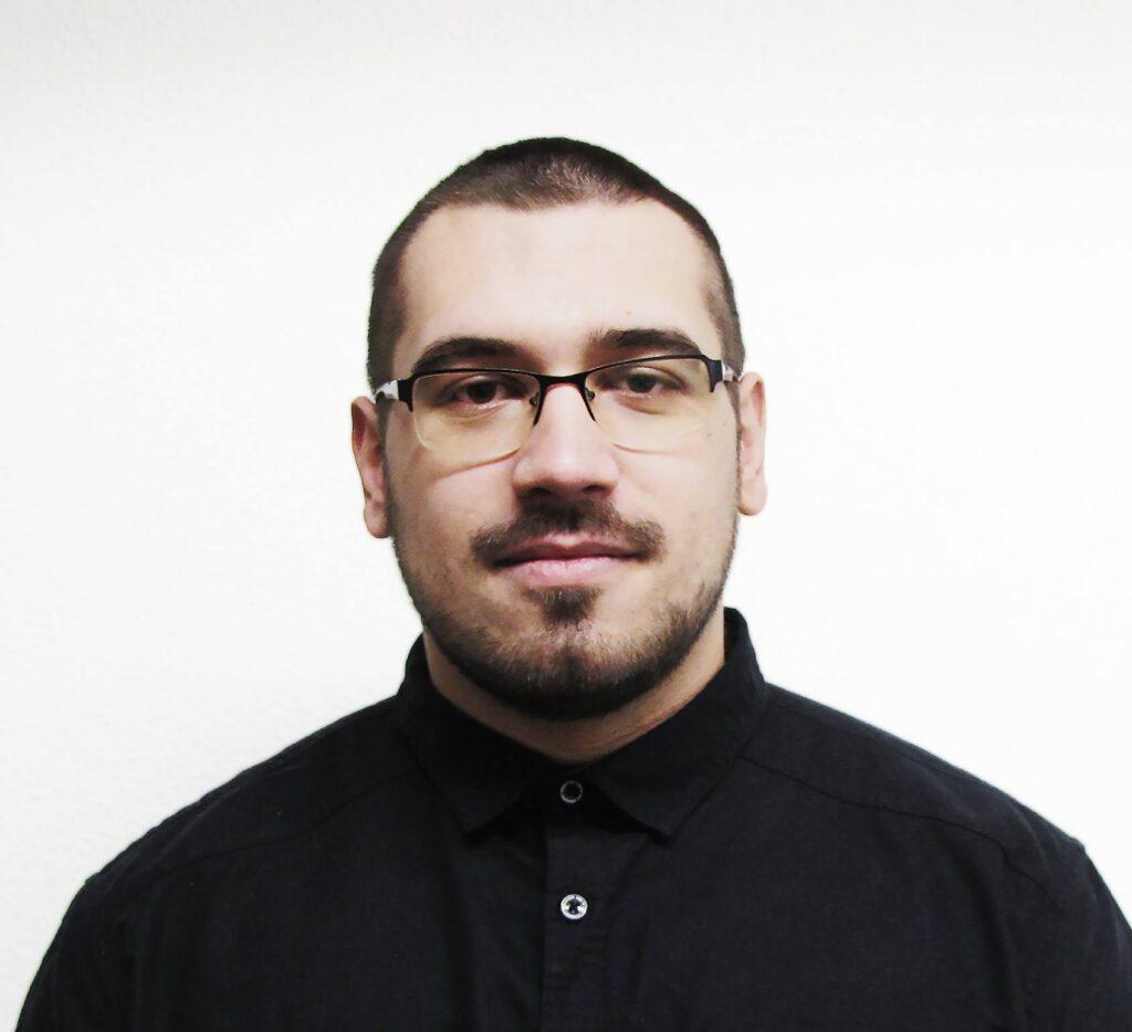 Et billede af Klauss Brauner som er webudvikler hos TRIBE Media