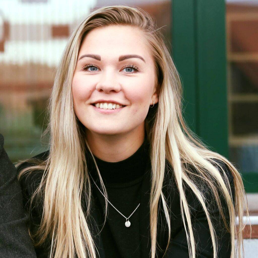 Et billede af Trine Bøndergaard dengang hun var med i TRIBE Media