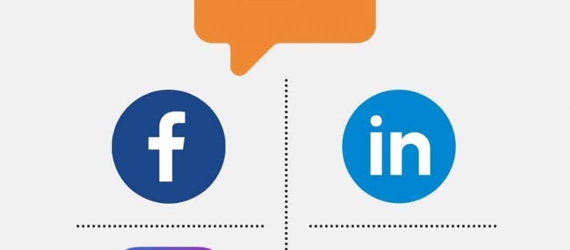 en illustration af video til sociale medier
